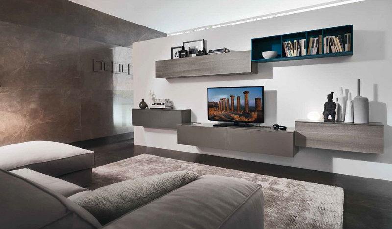 Soggiorni one d casa del mobile rimini for Divani moderni grigi