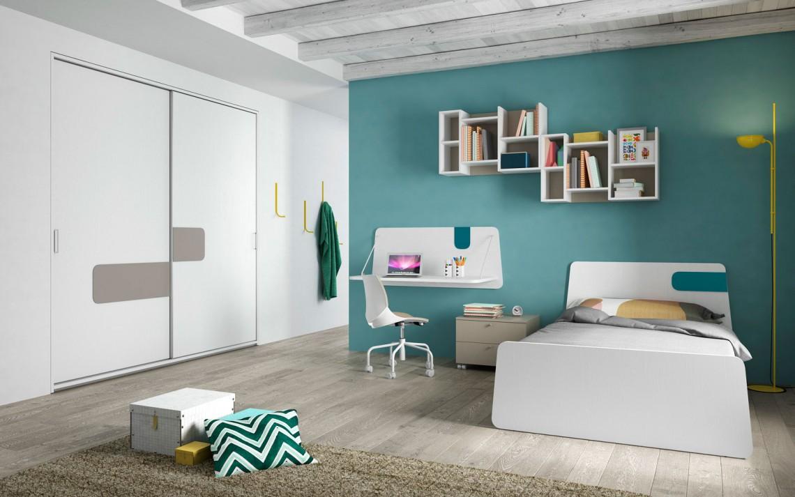 Cameretta libreria casa del mobile rimini for Mobile per cameretta