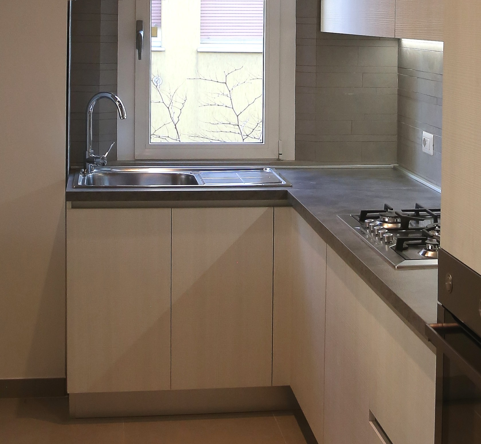 Cucina su misura casa del mobile rimini - Top lavello cucina ...