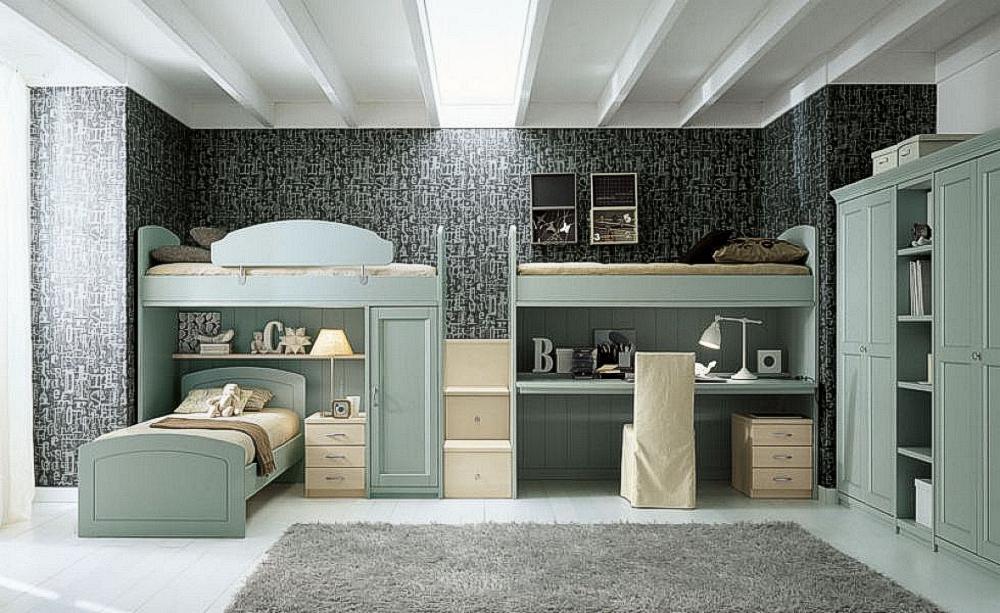 Camerette legno massello casa del mobile rimini - Camerette di legno ...