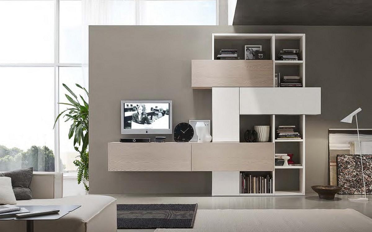 Soggiorno horizon componibile casa del mobile rimini - Mobile soggiorno angolare ...