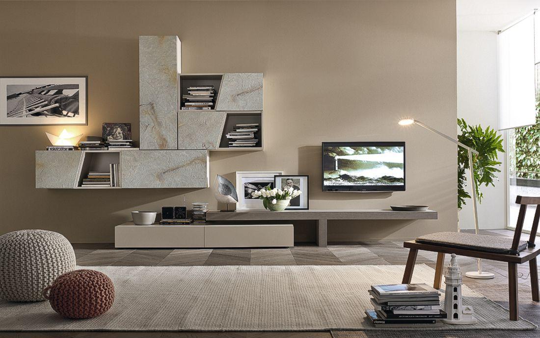 Il soggiorno Horizon Living Space si distingue per la capacità di ...