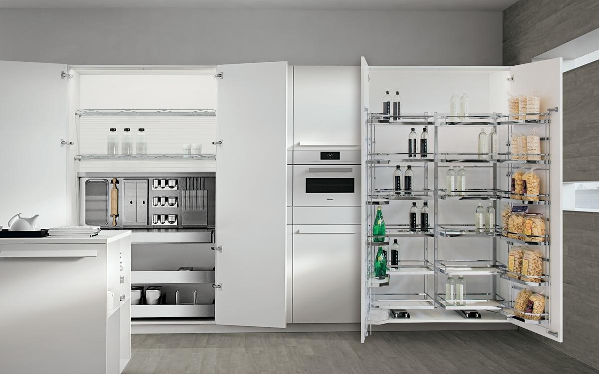 Accessori e meccanismi per cucine