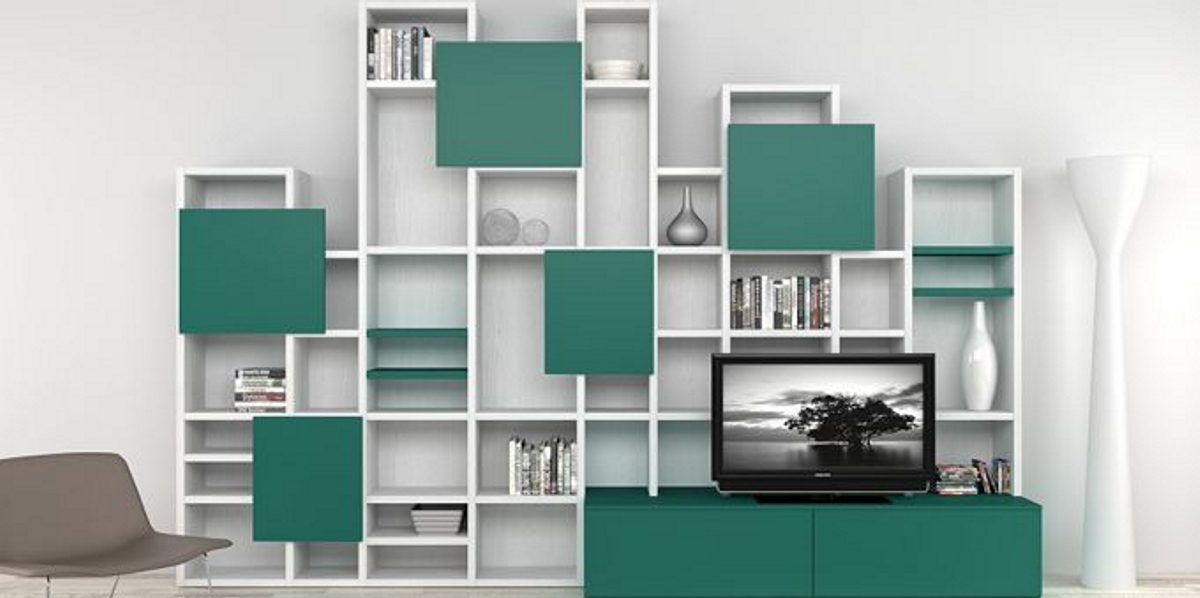 Libreria a spalla over casa del mobile rimini - Casa del mobile rimini ...