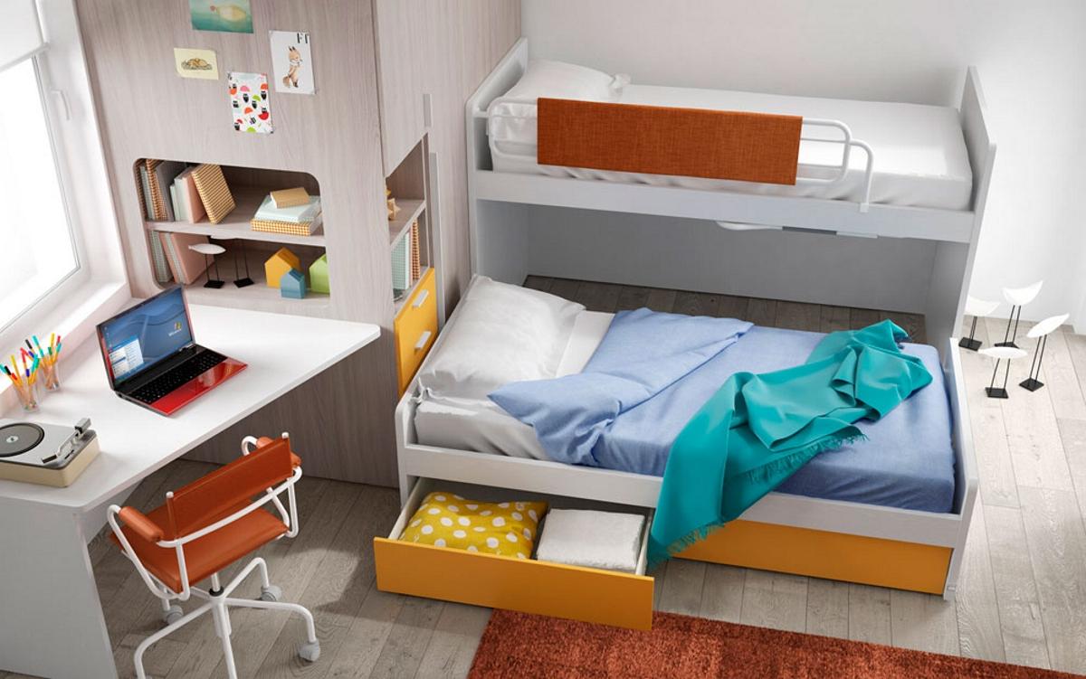 Camerette salvaspazio casa del mobile rimini - Pitture particolari per camera da letto ...