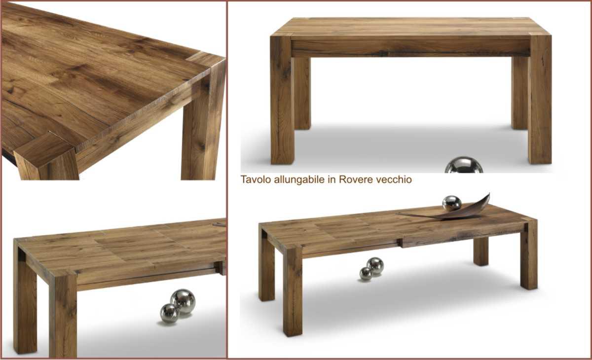 Tavoli in legno casa del mobile rimini for Loggia arredamenti